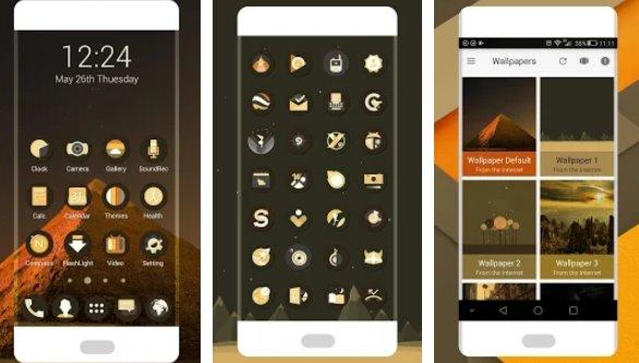 ретро о значок пакет APK Android