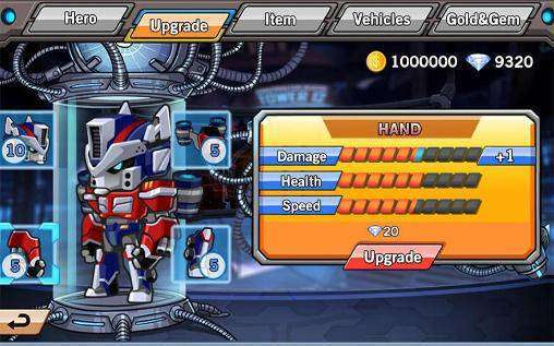 Robo Avenger MOD APK Android Game Free Download