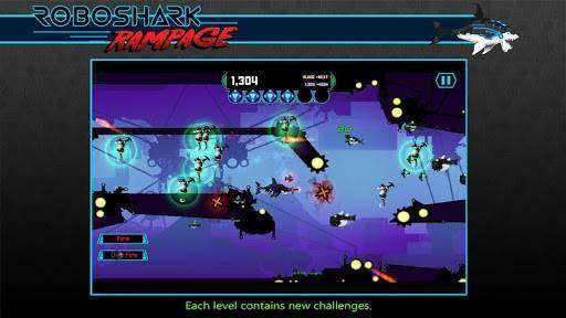 Robo Shark Rampage Full APK Android Game Free Download