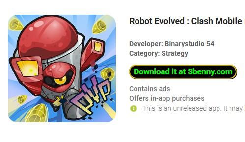 робот развился