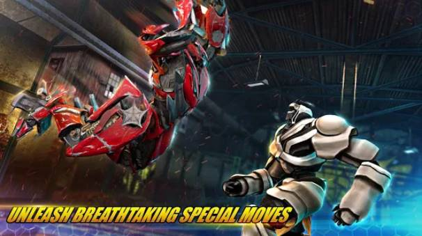 juegos de lucha robot real transformar ring fight 3d APK Android