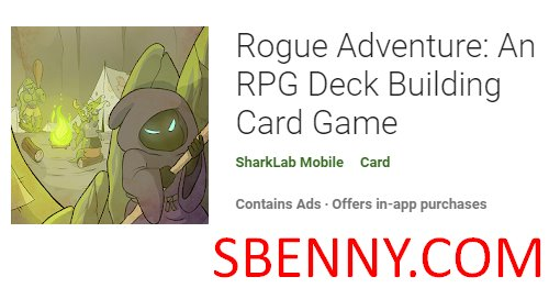 rogue adventure an rpg deck building card game