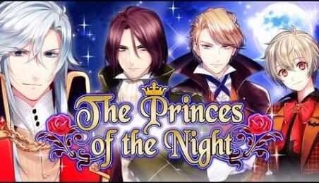 Romantik otome Spiele die Fürsten der Nacht