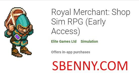 royal merchant shop sim rpg