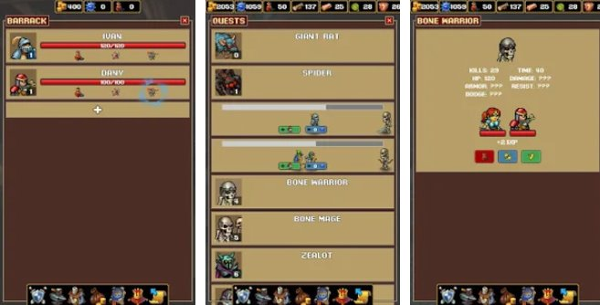 magasin marchand royal sim rpg APK Android