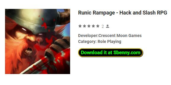 runique rampage hack et slash rpg