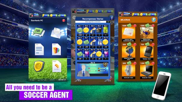 2018 Soccer Agent Unlimited Money MOD APK Free Download