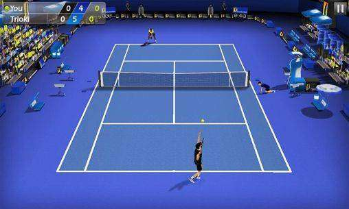 3D Tennis MOD APK Android Game Free Download