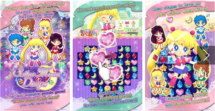 Sailor Moon Drops MOD APK for Android Download
