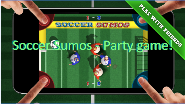 Soccer Sumos Party game!