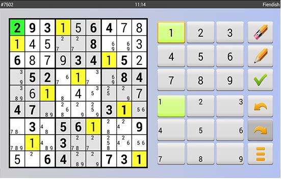 sudoku android gratuit
