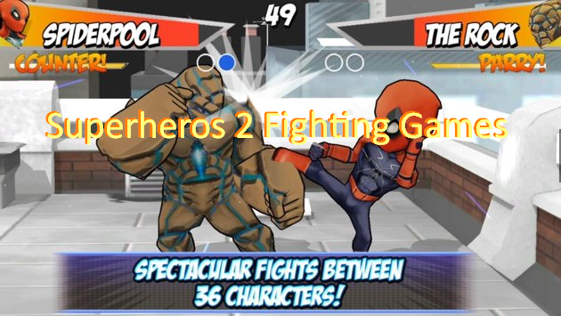 Superheros 2 Kampfspiele