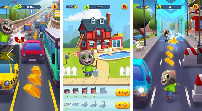 Android Talking Tom Gold Run APK