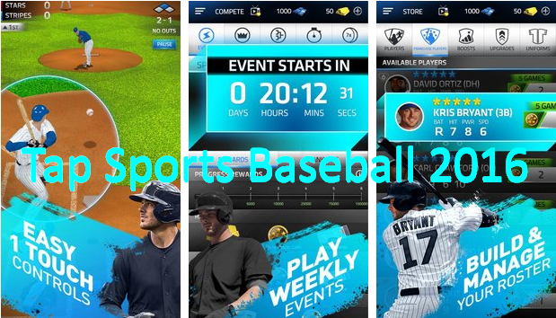 Нажмите Спорт Бейсбол 2016