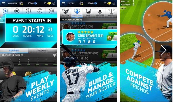 Нажмите Спорт Бейсбол 2016 Android APK