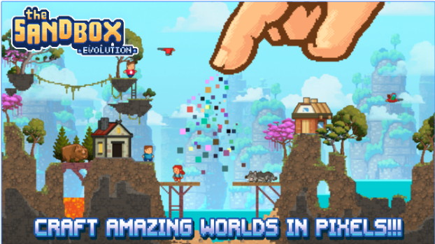 The Sandbox Evolution MOD + APK Game for Android Free