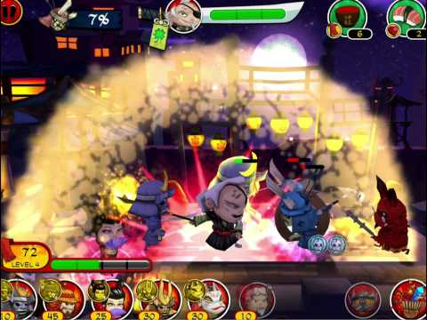 SAMURAI vs ZOMBIES DEFENSE MOD APK Android Free Download