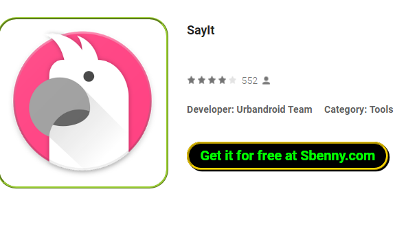 SayIt MOD APK for Android Download