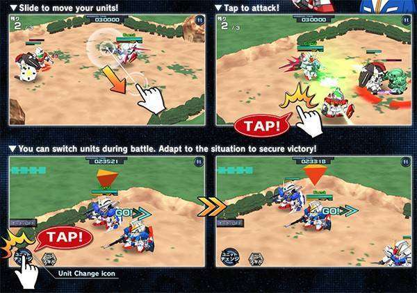 SD GUNDAM STRIKERS MOD APK Android Free Download