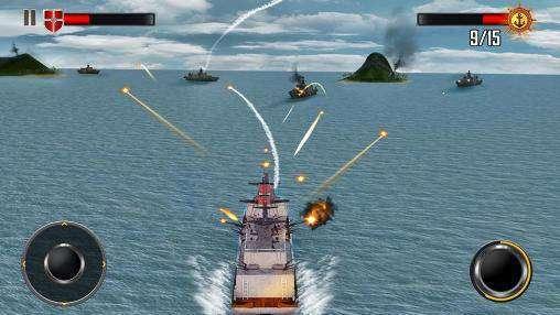 Sea Battleship Kampf 3D MOD APK Android herunterladen