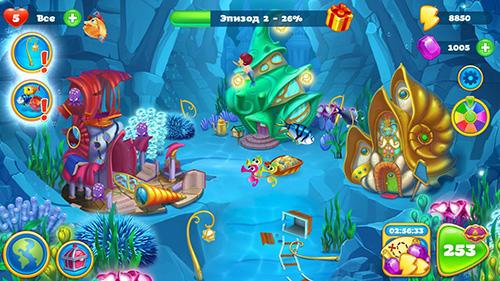 seascapes trito s матч 3 приключение APK Android