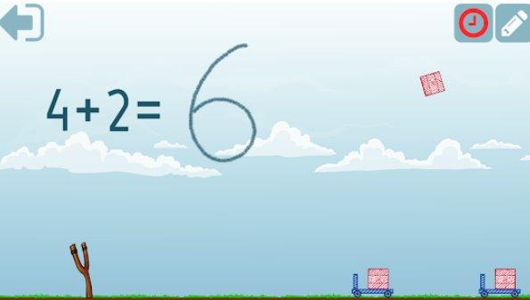 APK di aggiunta matematica di secondo grado Android