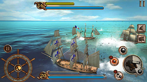 Navires de combat Age of pirates APK Android