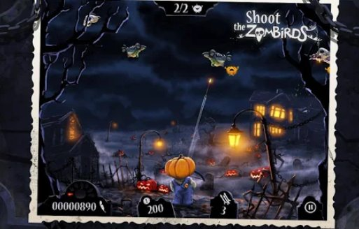 shoot the zombirds APK Android