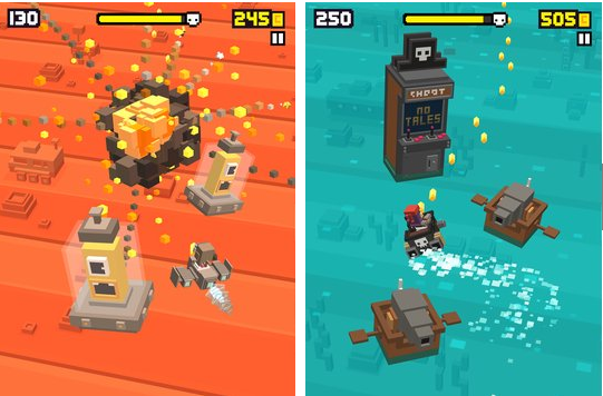 shooty skies arcade flyer APK Android