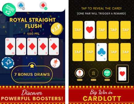 gioco offline di shuffle card puzzle APK Android