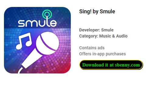 Sing! by Smule VIP Unlocked MOD APK Free Download