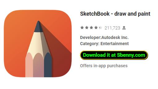 SketchBook - draw and paint Full Version Unlocked APK