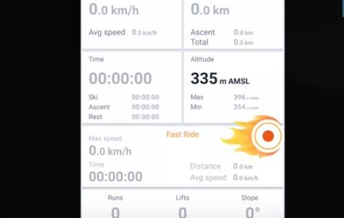 ski tracker APK ANdroid