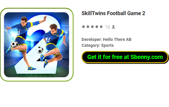 GAME TÉLÉCHARGER MOD FOOTBALL SKILLTWINS