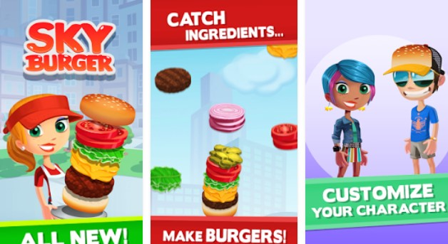 небо гамбургер APK Android