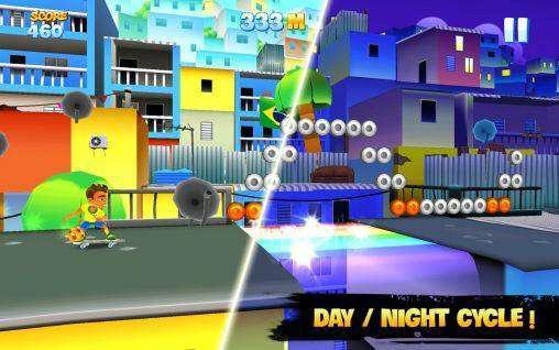 Skyline Skaters MOD APK Android Spiel kostenlos heruntergeladen werden