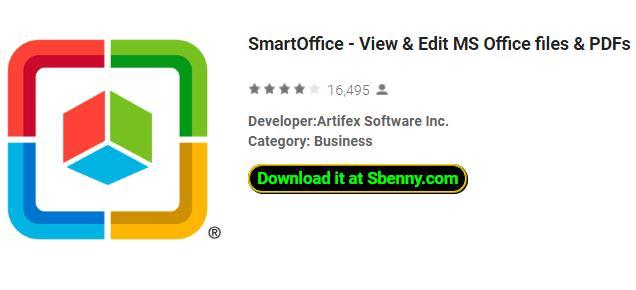 smartoffice просмотр и редактирование ms офисных файлов и pdf-файлов