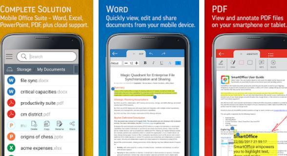 smartoffice просмотр и редактирование ms офисных файлов и pdf-файлов APK Android