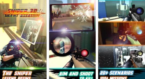 Sniper 3D Silent Assassin Fury MOD APK Android Download