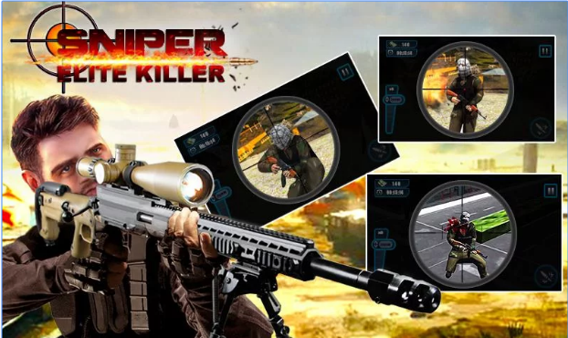 Sniper: Elite Killer MOD APK Android Free Download