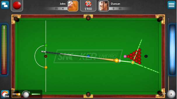 Snooker Live-Pro und sechs rote APK Android
