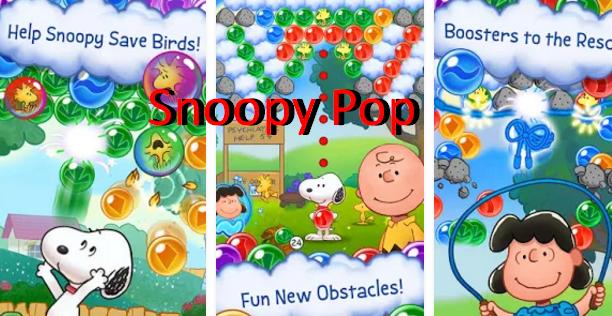 Snoopy Pop Unlimited Lives & Money with Cheat Menu MOD APK