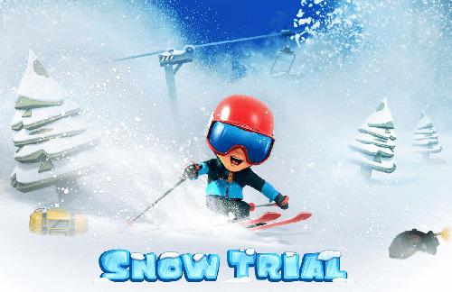 épreuve de neige