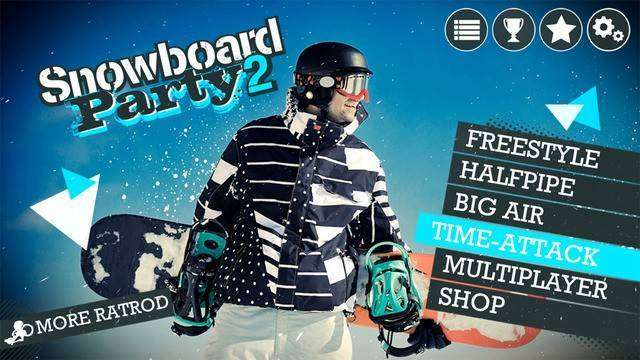 Snowboard Party 2 Full APK Android Game Free Download