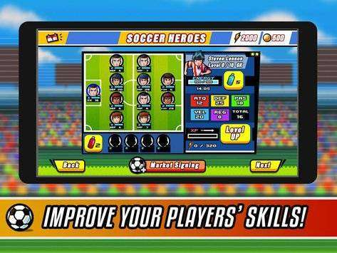 Soccer Heroes RPG MOD APK Android Free Download