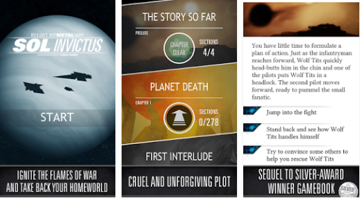 sol invictus the gamebook APK Android