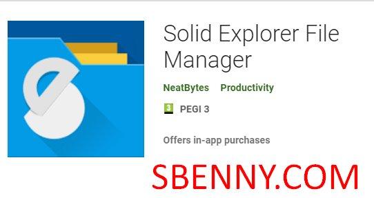 Менеджер файлов Solid Explorer