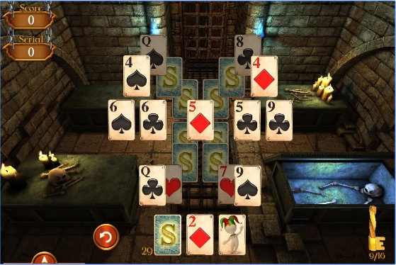 solitaire dungeon escape APK Android