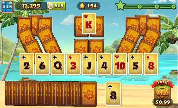 Solitaire TriPeaks MOD APK Android Game Free Download