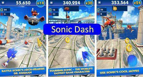 Sonic Dash APK MOD Unlimited Red Stars Android Download